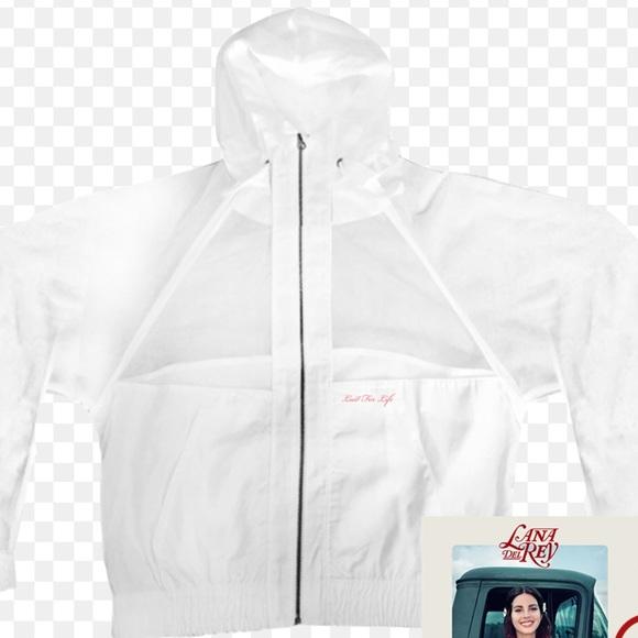 Lana Del Rey Jackets Coats Lana Del Ray Mesh Windbreaker Hoodie Jacket Poshmark